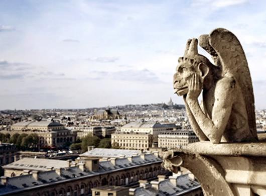 Gargoyle in Paris